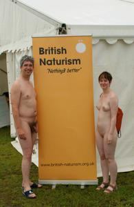 BN logo at Nudefest