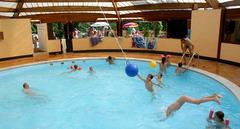 indoor pool at Creuse Nature