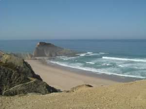 Alteirinhos beach, Portugal