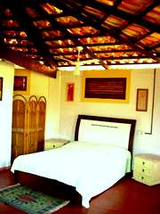 Bedroom at Chacara Colina