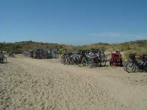 Bikes at the beach