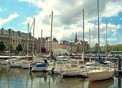 Caen ferry port