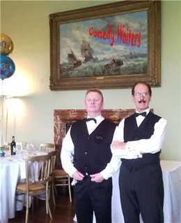 Comedy waiters