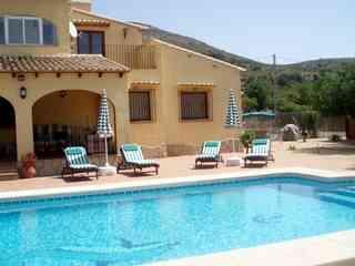 Pool and terrace at Casa de Libertad