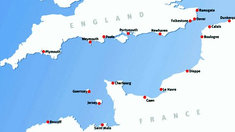 French Ferry Ports Discover Them For Yourselves