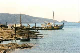 fishing boats in  Koufonisia