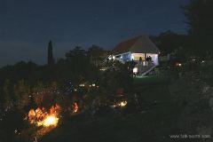 Moonlit evening at Camp Full Monte