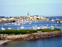 Roscoff ferry port