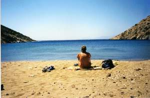 Beach on Antiparos