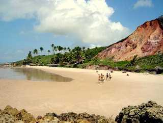 Nearby Tambaba naturist beach