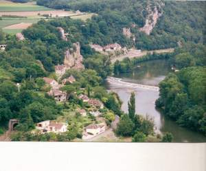 The River Lot from St.Cirq-Lapopie