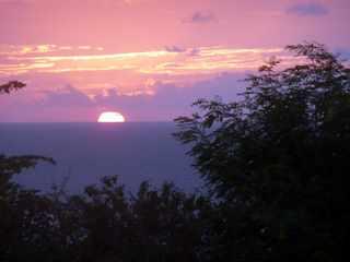 Sunset on Curacao