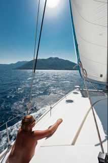 Vassaliki naturist sailing trip