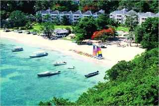 Virgin Holidays - Beach at Couples Sans Souci
