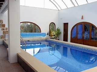 Villa in Spain indoor pool