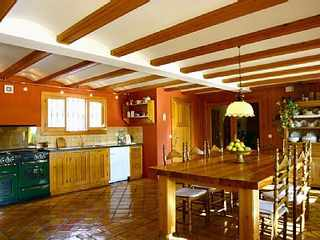 Villa in Spain kitchen