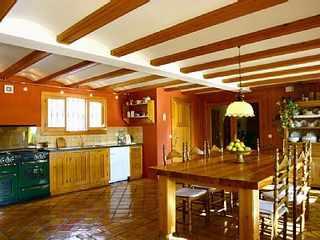Villa in Spain kitchen