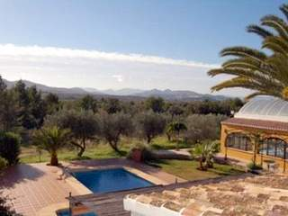 Villa in Spain rooftop view
