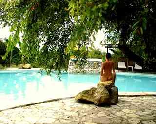 Pool at Chacara Colina