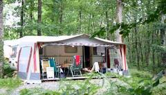 camping at Creuse Nature