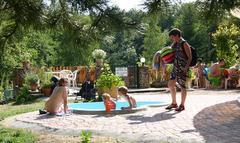 childrens pool at Creuse Nature