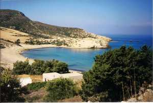 Livadia Beach on a calm day
