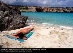 'Nude Beaches' Majorca