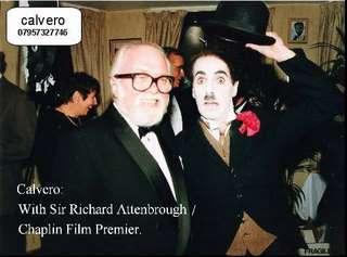 Frank with Sir Richard Attenbrough