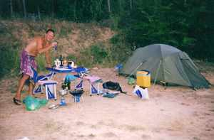 campsite in Provence