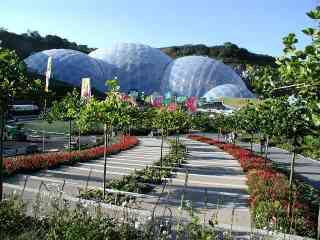 Biodomes at the Eden Project