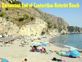 Cantarrijan naturist beach