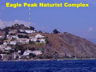 Eagle Peak from the sea