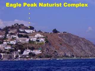 Eagle Peak from the sea