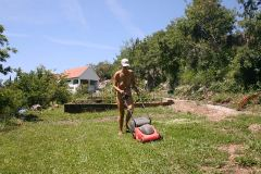 Grass cutting time