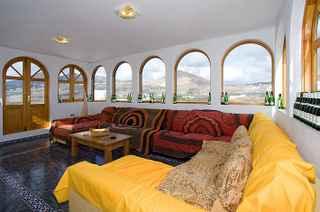 Sitting room at Villa Elephante Blanco