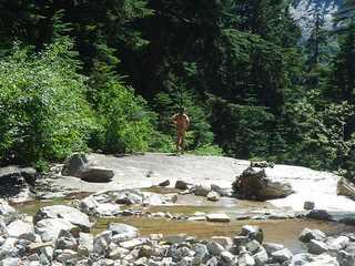 naturist hiking