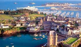 St.Malo ferry port
