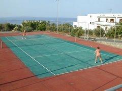 Vritomartis tennis court