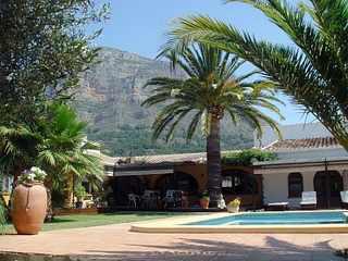 Villa  in Spain poolside terrace